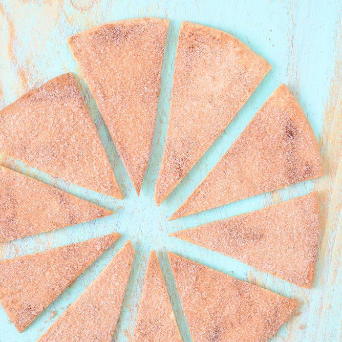 Kaneel tortilla chips