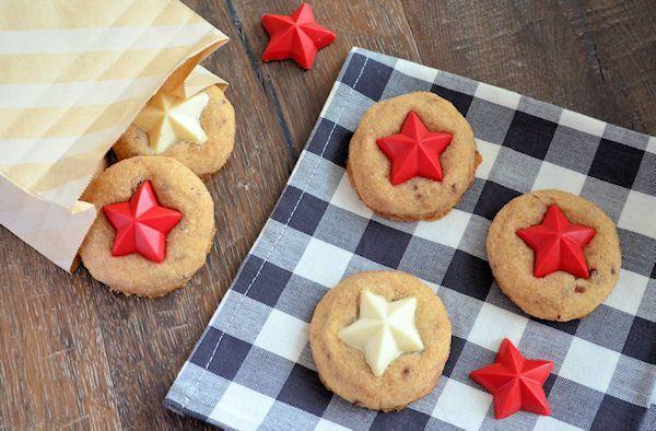 Advent 21: Kaneelkoekjes met witte chocolade