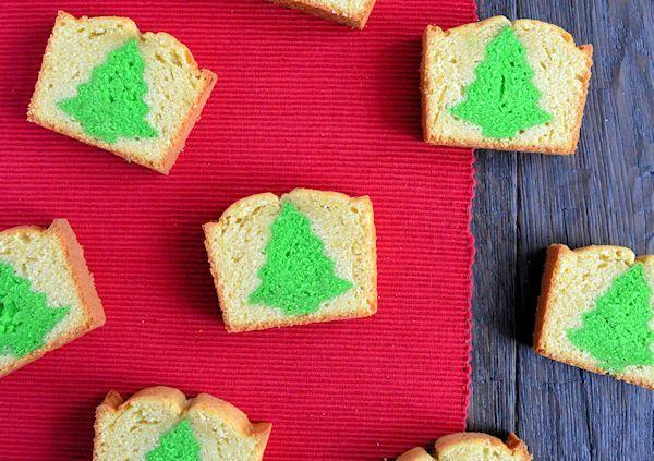 Advent 17: Kerstboom Cake