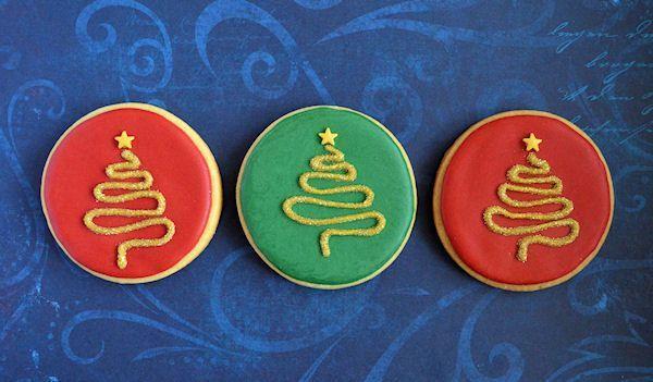 Advent 10: Kerstboom Koekjes