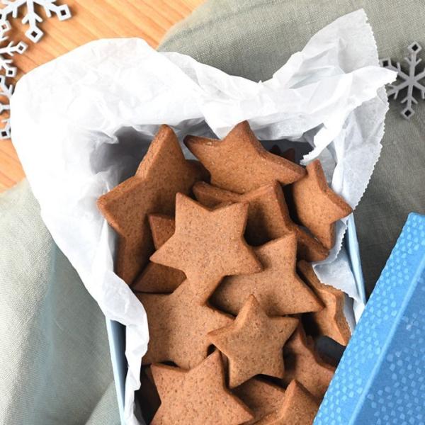 Zelfgemaakte eetbare kerstcadeautjes