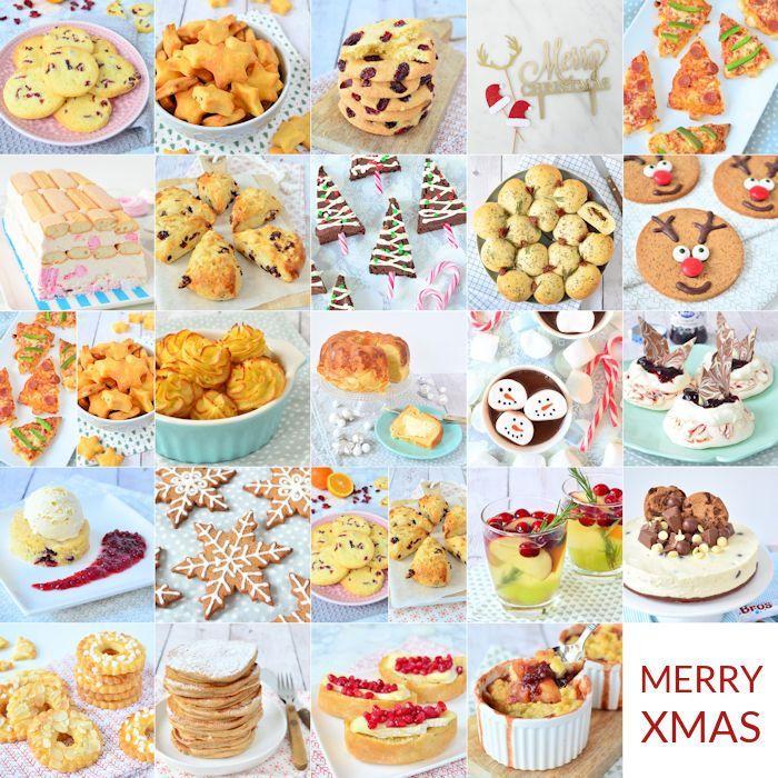 Overzicht: kerstrecepten advent 2016