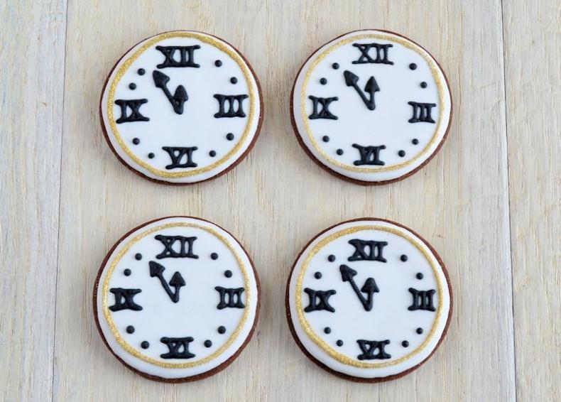 Klok koekjes