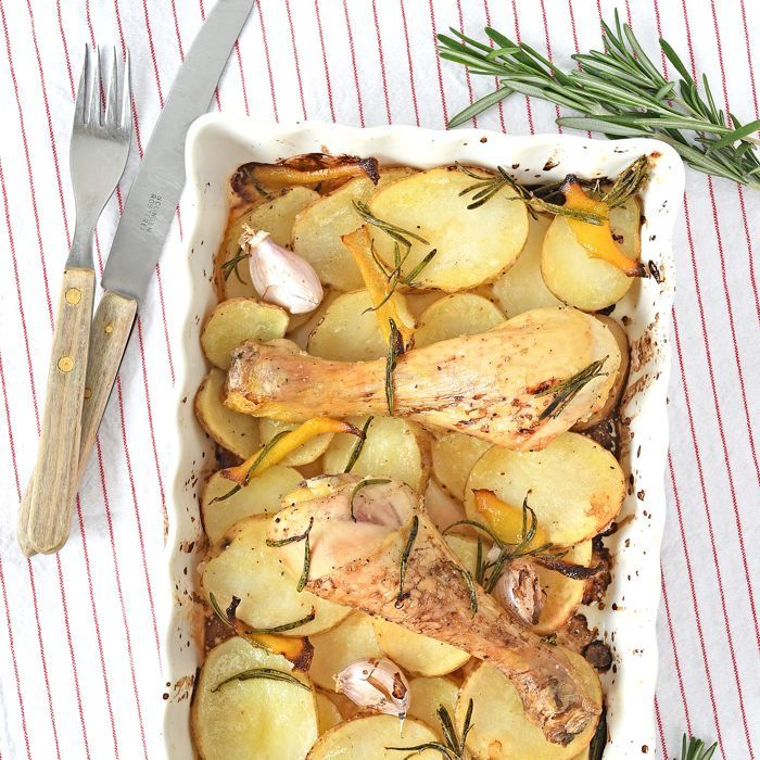 Kruidige kip uit de oven + review 5 ingrediënten van Jamie Oliver