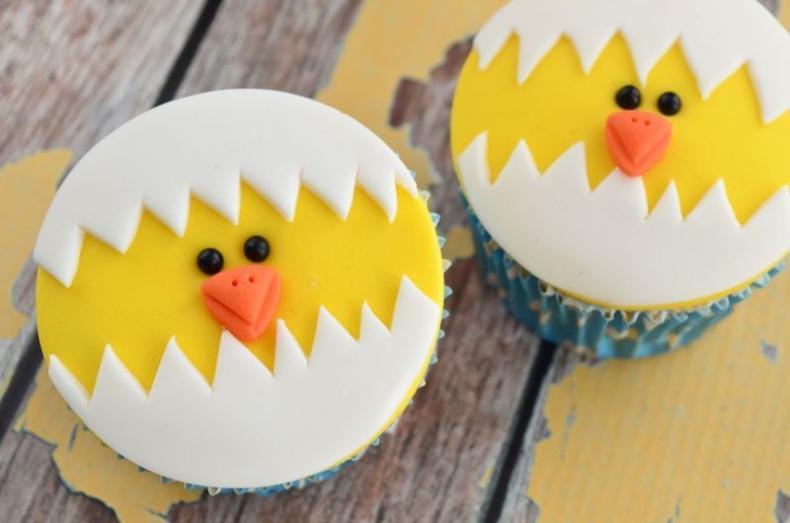 Video: kuiken cupcakes