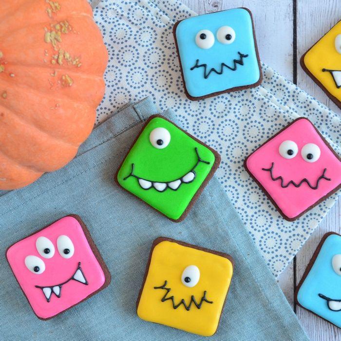 Lieve monster koekjes