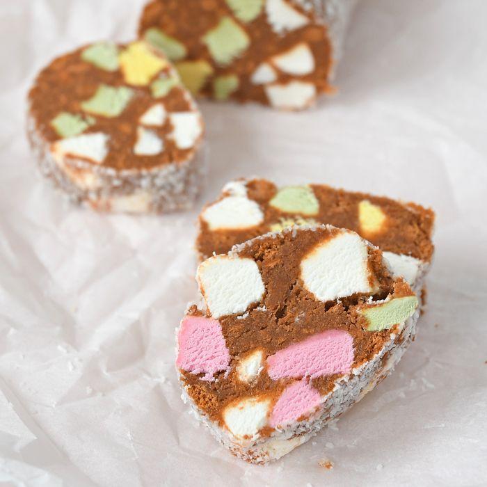 Lolly cake uit Nieuw-Zeeland