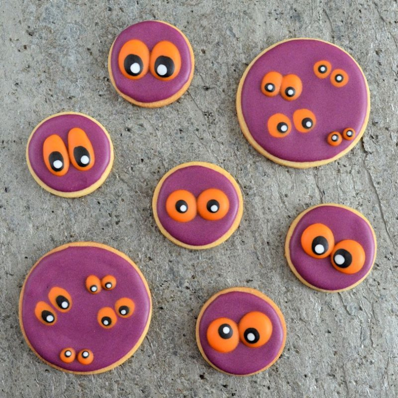 Monster ogen koekjes