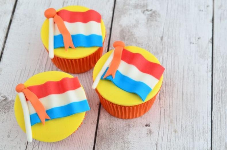 Video: Nederlandse vlag cupcakes