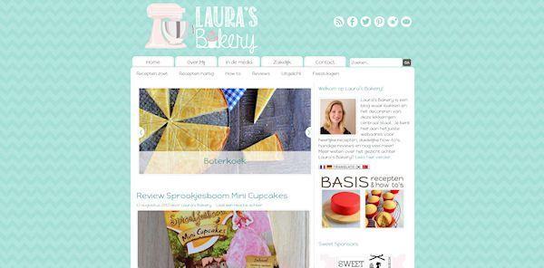De vernieuwde Laura's Bakery is live!