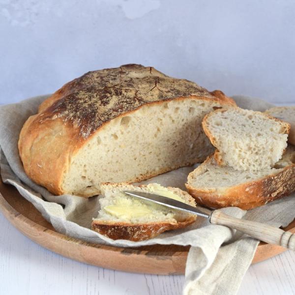 No knead bread (brood zonder kneden)
