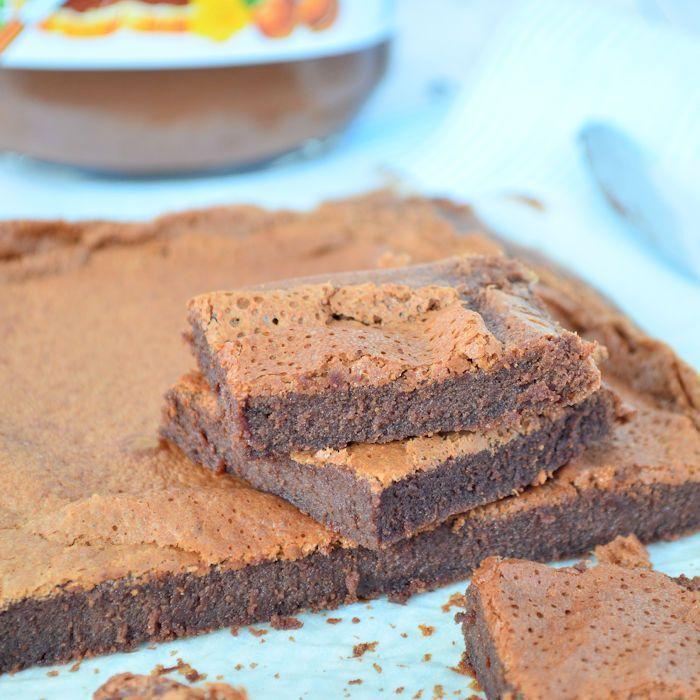 Video: 2 ingrediënten Nutella brownie