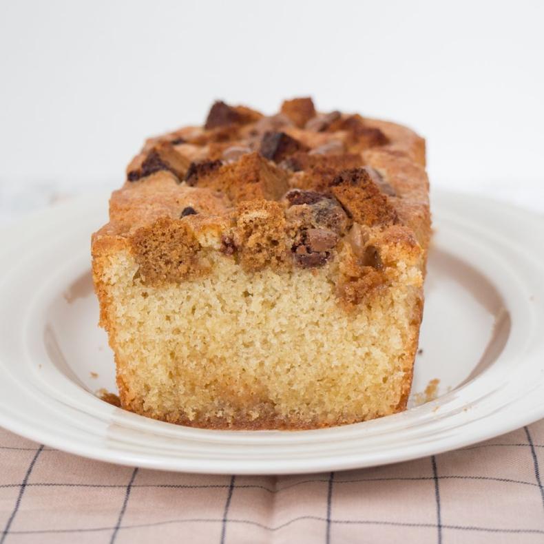 Cake met ontbijtkoek