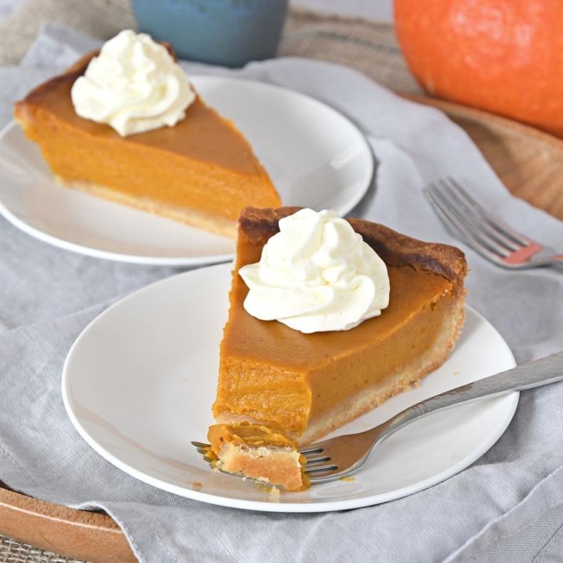 Pumpkin pie (pompoentaart)