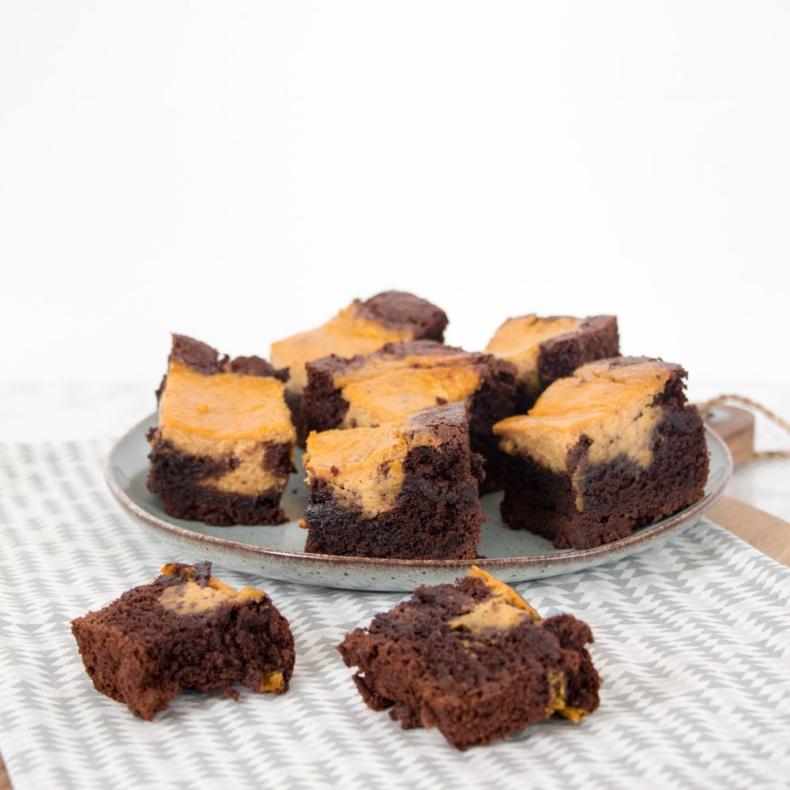 Pumpkin Spice brownie