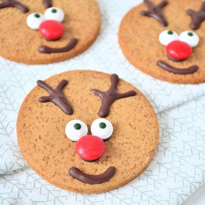 Rudolph het rendier koekjes