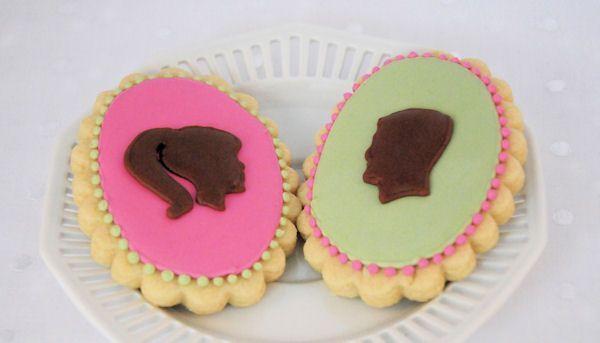 Silhouet koekjes