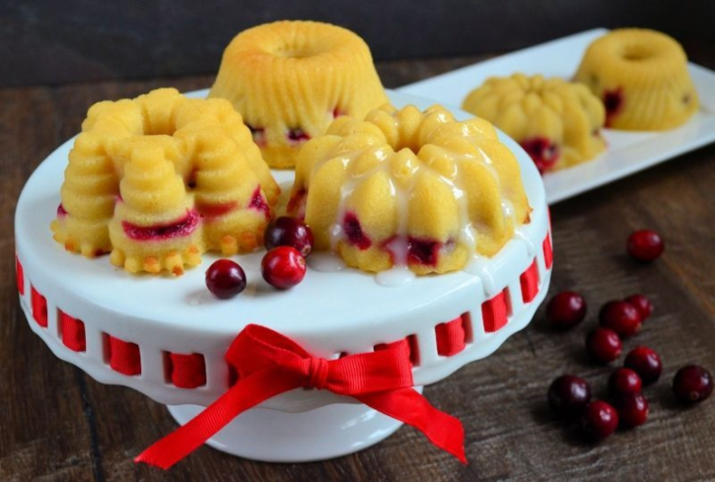 Sinaasappel cranberry cakejes