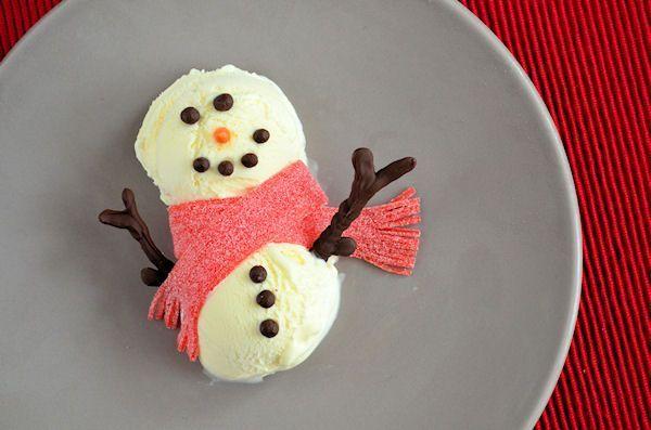Advent 16: IJsbollen Sneeuwpop Dessert