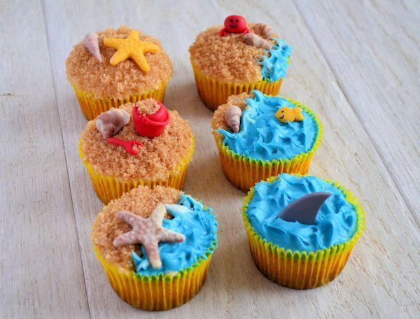 Strand cupcakes