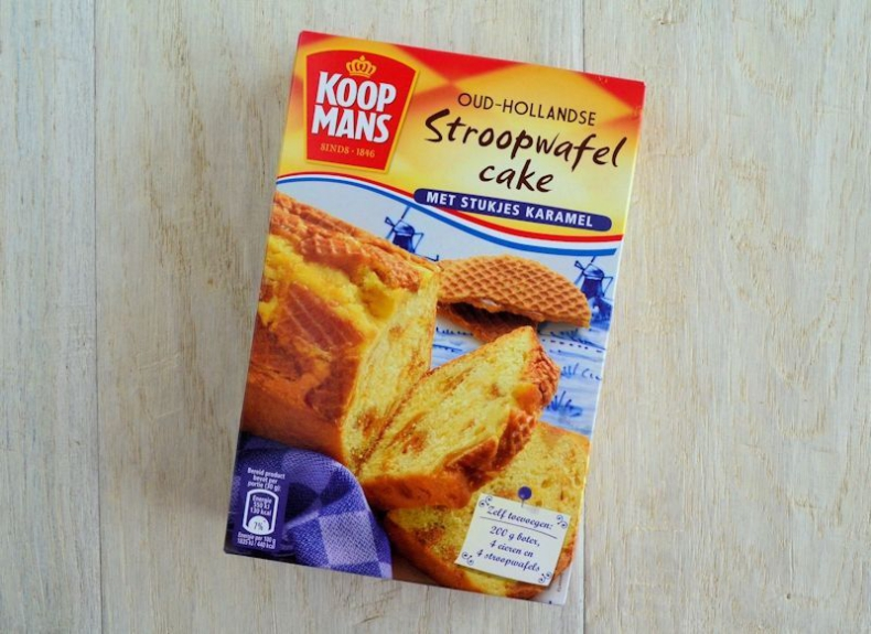 Review Koopmans stroopwafelcake