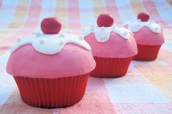 Theepot cupcakes en een ijsje