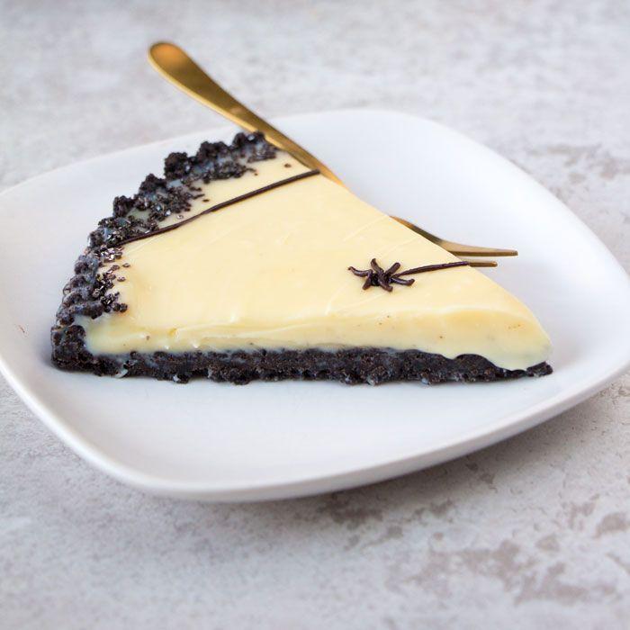 witte chocolade ganache taart