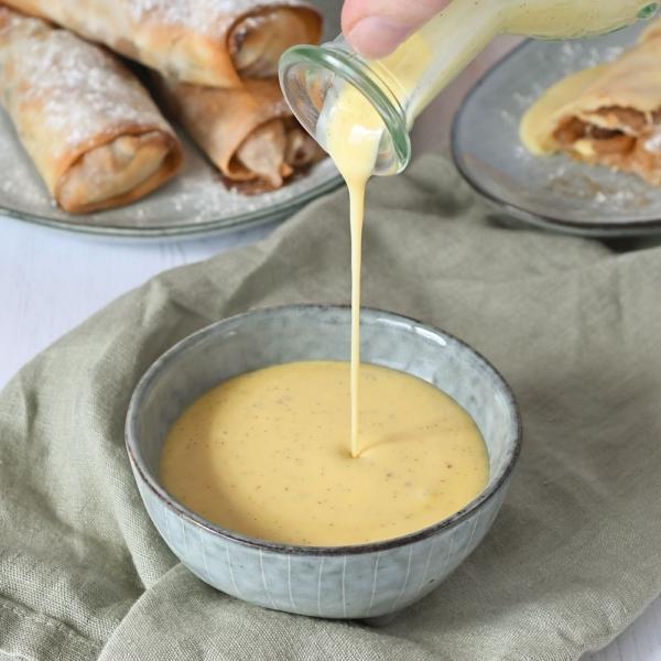 Zelf vanillesaus maken