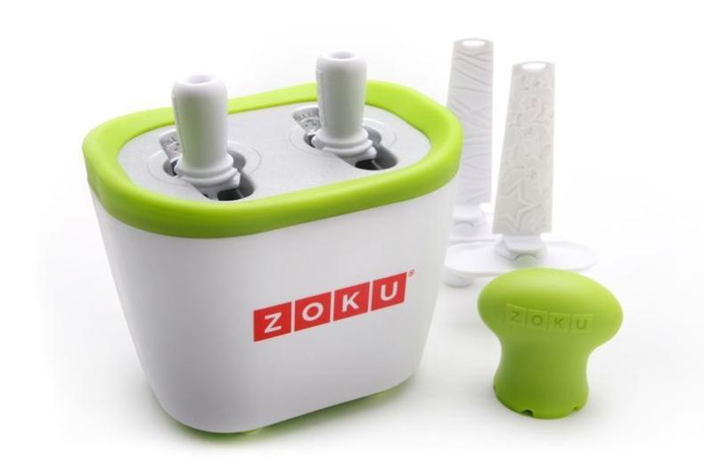 Review Zoku Quick Pop ijsmaker Duo