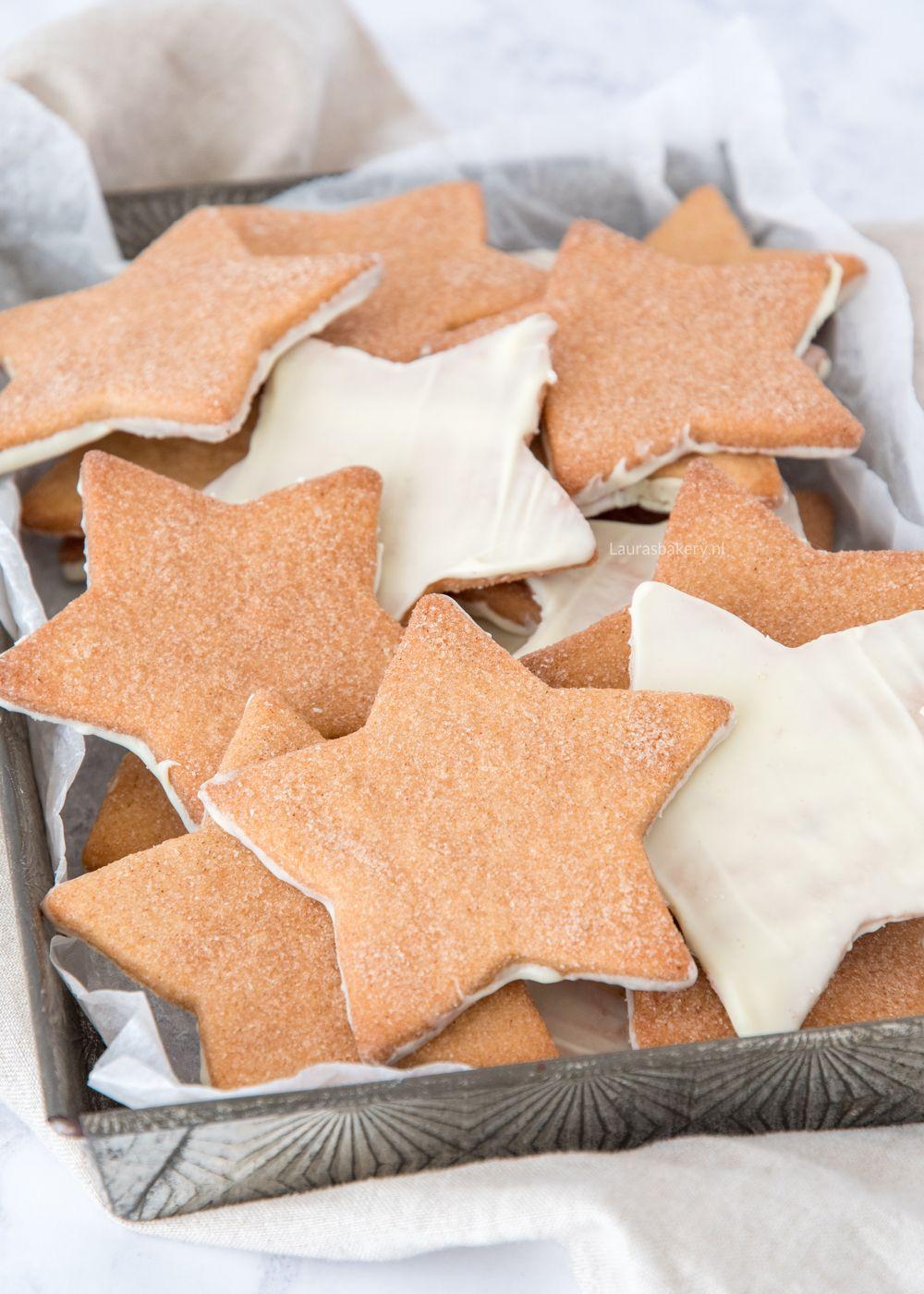 Kaneelsterren koekjes