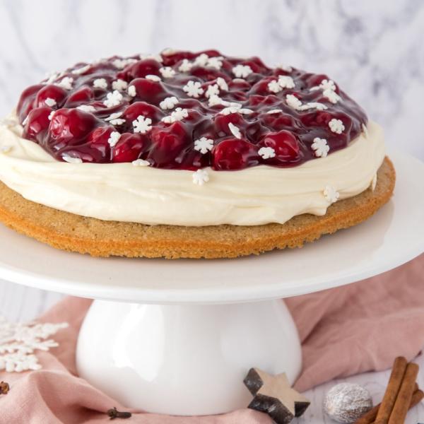 Kerst MonChou taart