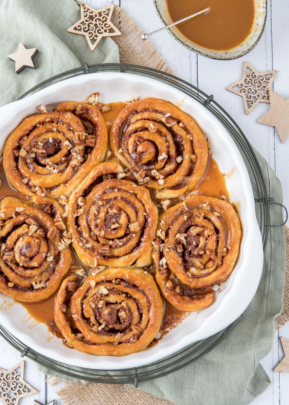 Snelle cinnamon rolls deluxe