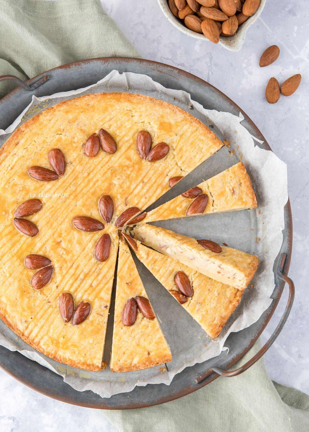 Amandel-citroen boterkoek