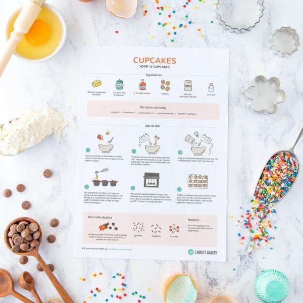 NIEUW: recept printables voor kinderen