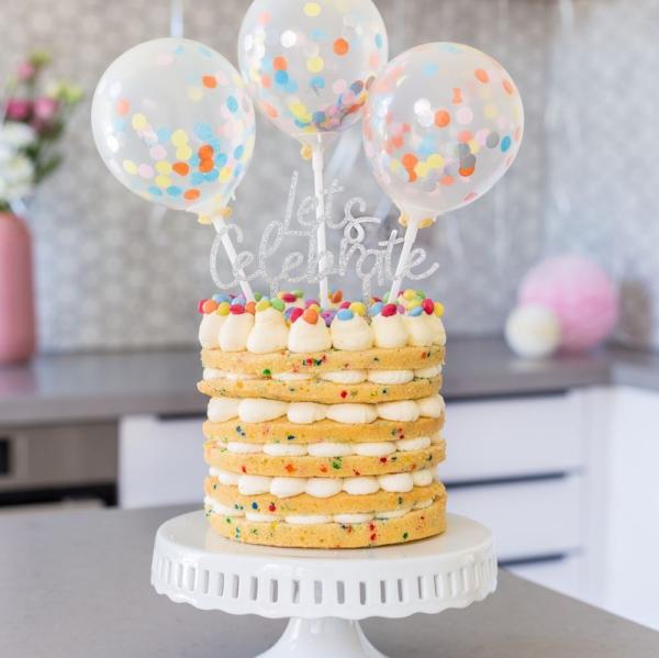Confetti taart