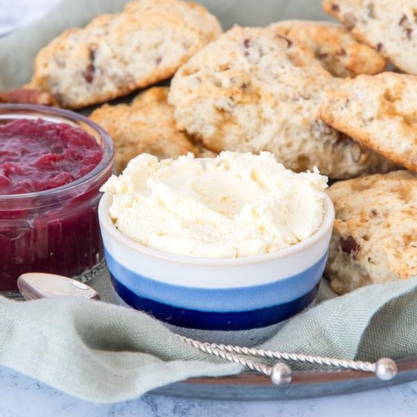 Echte clotted cream (uit de oven)