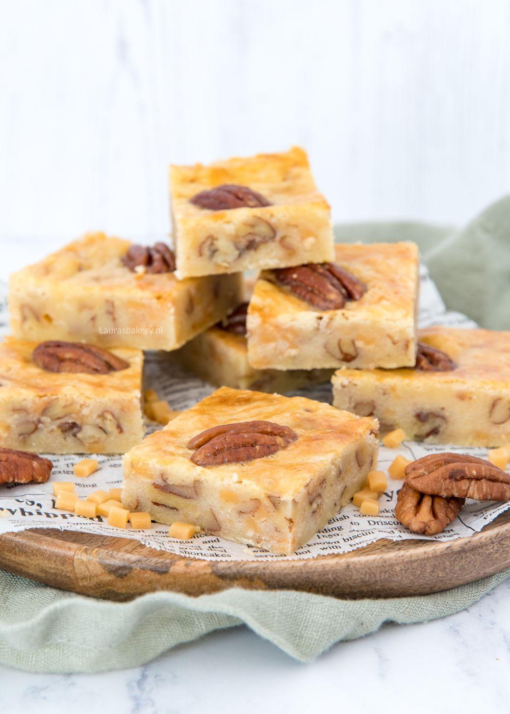 Pecan-karamel boterkoek