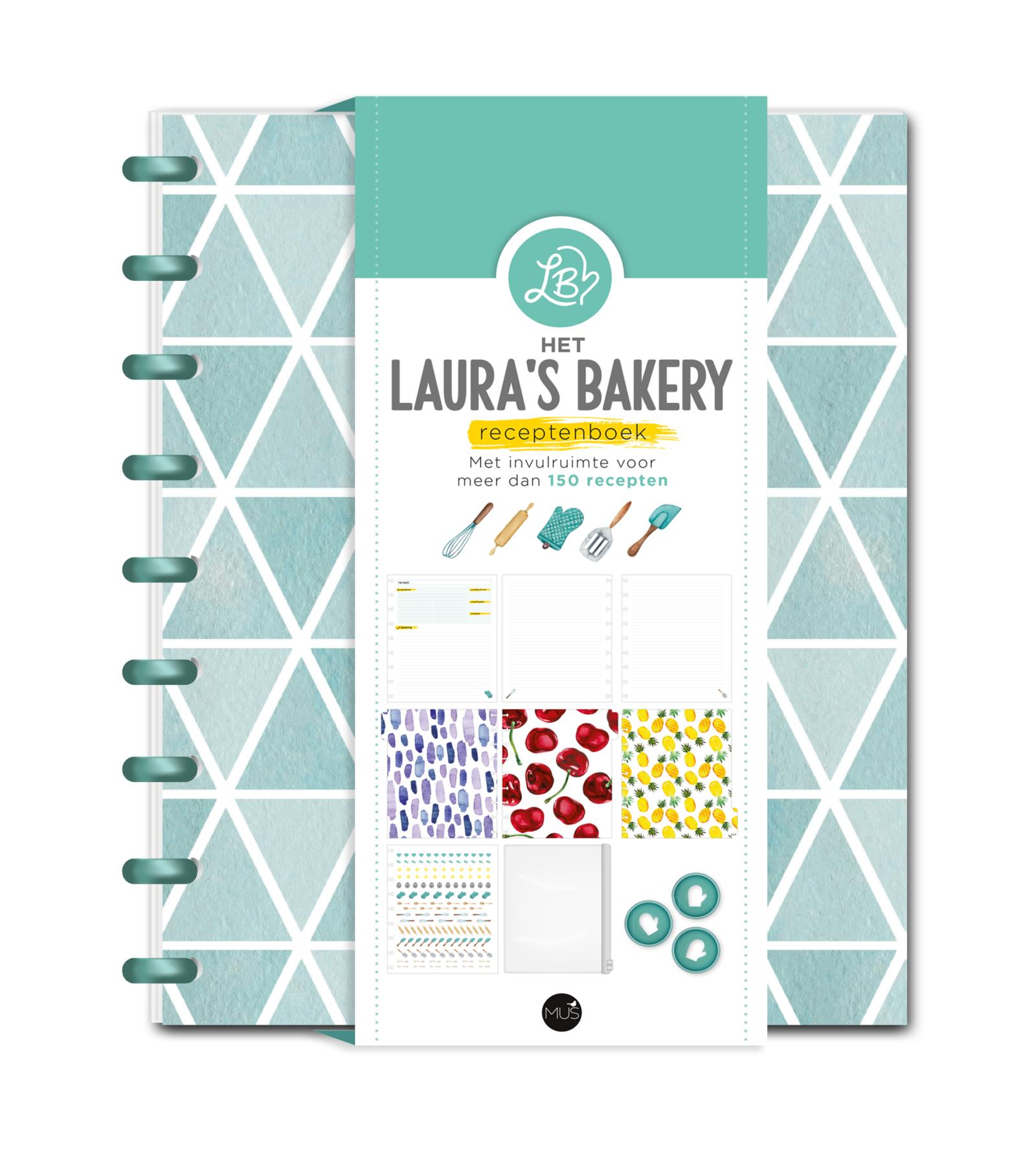 RESERVEREN: Het Laura's Bakery Receptenboek