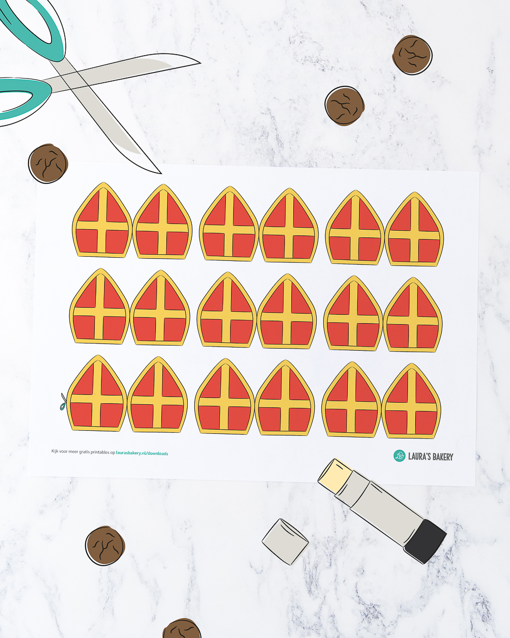 Printable 20201105 Cupcake Toppers Mijters