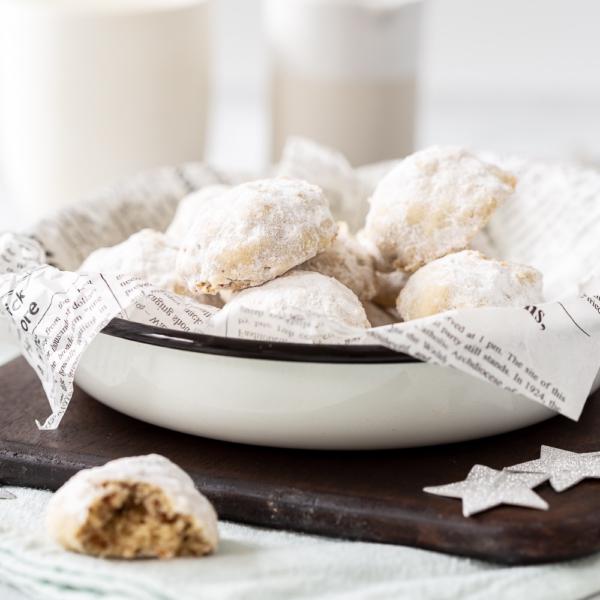 Pecan snowball koekjes