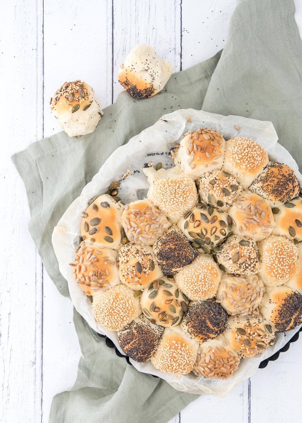 Breekbrood voor kleine broodjes