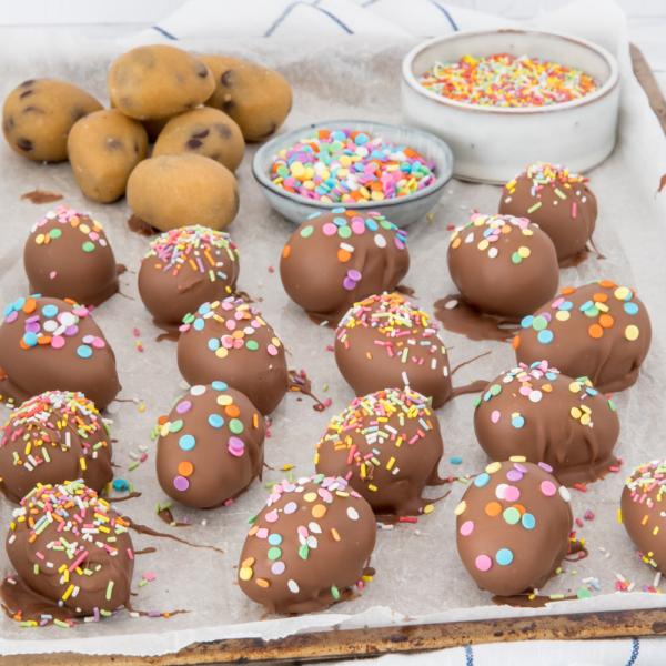 Cookie dough paaseitjes