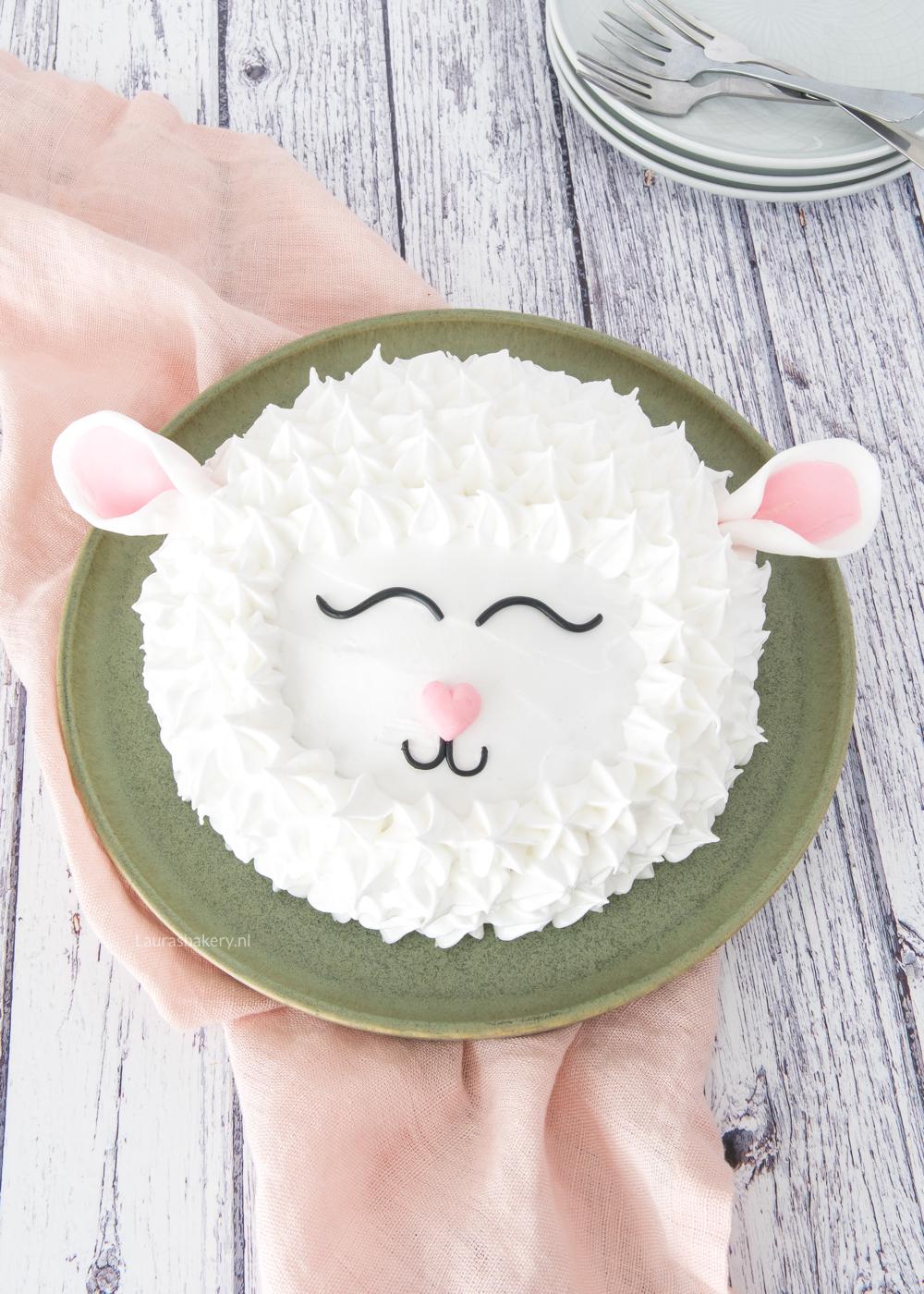 Lammetjes cake maken