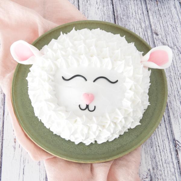 Lammetjes taart (4 persoons)
