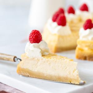 Boterkoek cheesecake