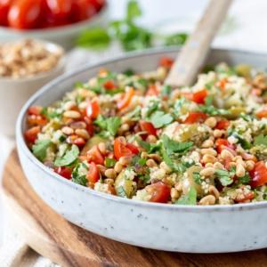 Vegetarische couscous salade